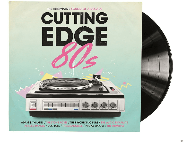 VARIOUS - CUTTING EDGE 80S [Vinyl]