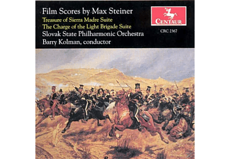 Slovak State Philh.Orch.,Barry Kolman, - Film Scores by Max Steiner - (CD)