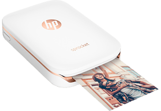 HP Sprocket Photo Printer - Vit