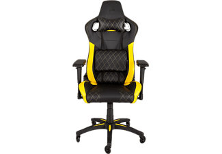 CORSAIR T1 Race Gamingstol - Svart/Gul