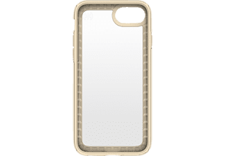 SPECK HardCase Presidio Show Handyhülle, Transparent/Gelb, passend für Apple iPhone 7