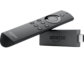 KINDLE Fire TV Stick mit Alexa-Sprachfernbedienung Streaming Stick, Schwarz
