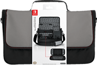 POWER A Everywhere Messenger Bag - Nintendo Switch , Nintendo Switch Tasche, Schwarz/Grau