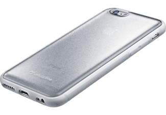 CELLULAR LINE HARD SELFIE CASE iPhone 6, iPhone 6s Handyhülle, Silber