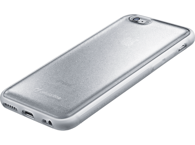 CELLULAR LINE HARD SELFIE CASE Backcover Apple iPhone 6, iPhone 6s TPU Material Silber | 08018080288142