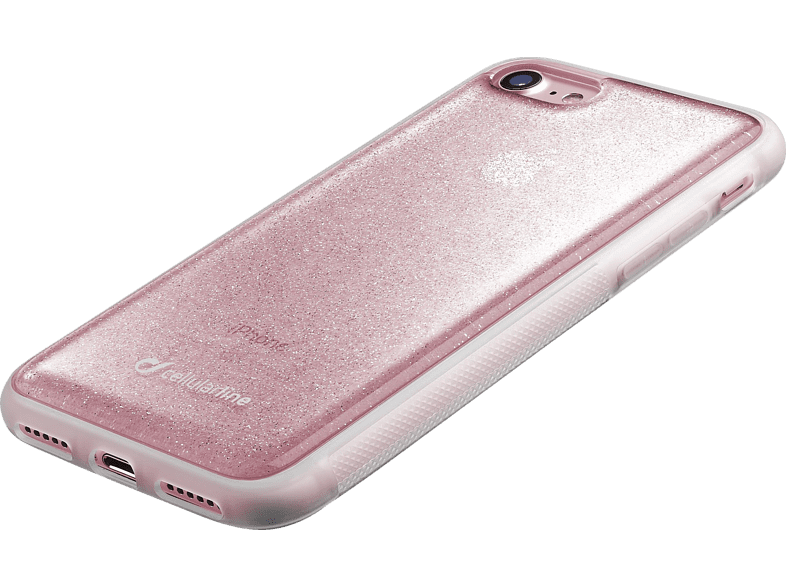 CELLULAR LINE HARD SELFIE CASE Backcover Apple iPhone 7, iPhone 8 Thermoplastisches Polyurethan Pink | 08018080288180