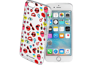 CELLULAR LINE STYLE CASE Handyhülle, Transparent, passend für Apple iPhone 6, iPhone 6s
