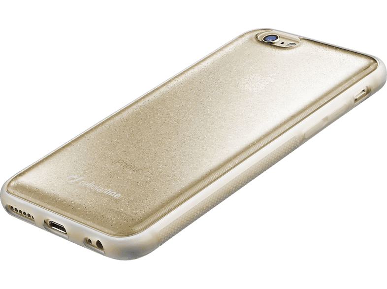 CELLULAR LINE HARD SELFIE CASE Backcover Apple iPhone 6, iPhone 6s Thermoplastisches Polyurethan Gold | 08018080288111