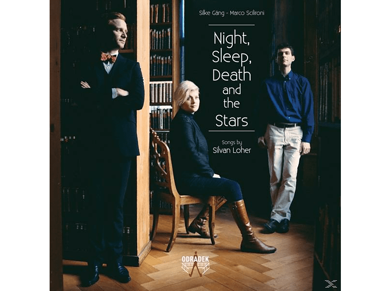 Silke Gäng, Marco Scilironi - NIGHT SLEEP DEATH AND THE STARS [CD]