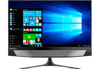 LENOVO IdeaCentre AIO 720, All-In-One PC mit 23.8 Zoll Display, Core™ i7 Prozessor, 16 GB RAM, 2 TB HDD, 256 GB SSD, GeForce GTX 960A, Schwarz