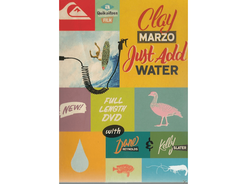 Clay Marzo - Just add water [DVD]