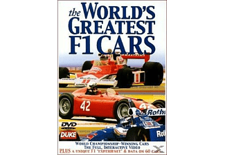 The Worlds Greatest F1 Cars - (DVD)