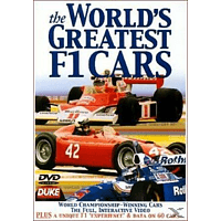 The Worlds Greatest F1 Cars [DVD]