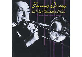 Tommy Dorsey And The Clambake Seven - The Music Goes Round & Round - (CD)