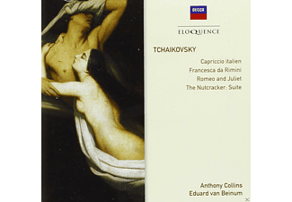 Anthony Collins, VARIOUS, Eduard Van Beinum, London Symphony Orchestra, Concertgebouw Orchestra, The London Philharmonic Orchestra - Capriccio Italien - (CD)