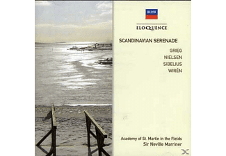 Sir Neville Marriner, Academy of St. Martin in the Fields - Scandinavian Serenade - (CD)