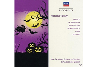 New Symphony Orchestra Of London, Sir Alexander Gibson - Witches' Brew - (CD)