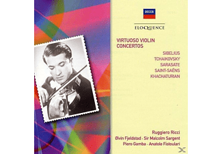 VARIOUS - Virtuoso Violin Concertos - (CD)