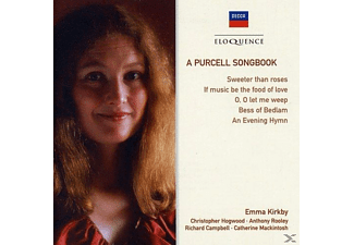 Emma Kirkby, Anthony Rooley, VARIOUS, Richard Campbell - A Purcell Songbook - (CD)