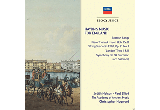 Judith Nelson, Paul Elliot, Academy Of Ancient Music - Haydn's Music For England - (CD)