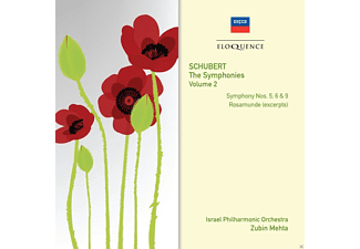 Zubin Mehta, Israel Philharmonic Orchestra, VARIOUS - Symphonies, Vol.2: 5,6 & 9 & Rosamunde - (CD)