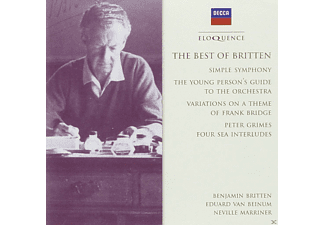 Wilhelm Backhaus, Sir Neville Marriner, Eduard Van Beinum, English Chamber Orchestra, Academy of St. Martin in the Fields, Royal Concertgebouw Orchestra - The Best Of Britten - (CD)