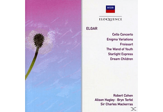 VARIOUS - CELLO CONCERTO ENIGMA VARIATIONS FROISSART/UA - (CD)