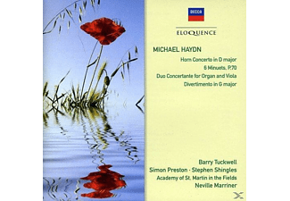 Stephen Shingles, Academy of St. Martin in the Fields, Preston Simon, Tuckwell Barry - Duo Concertante für Orgel & Viola P.55 - (CD)
