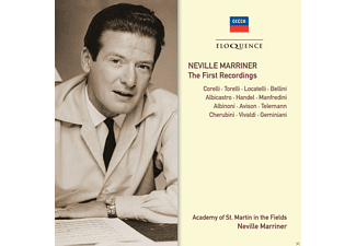 Academy Of St.Martin-In-The-Fields, VARIOUS, Marriner Neville - Neville Marriner-The First Recordings - (CD)