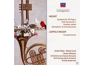 ANSERMET/MICHEAU - Sinfonie 38 Prague - (CD)