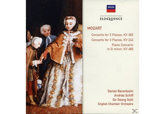 VARIOUS - Concertos for 2 & 3 Pianos,Concerto in D Min - (CD)