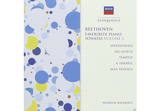 Wilhelm Backhaus, VARIOUS - Favourite Piano Sonatas Vol.2 - (CD)