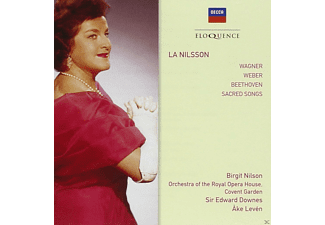 Birgit Nilsson, Orchestra Of The Royal Opera House, Ake Levén - La Nilsson-Opera & Concert Arias - (CD)