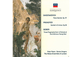 Dorian Singers, The Melos Ensemble Of London, Pears Peter - Shostakovich, Prokofiev & Seiber - Chamber Music - (CD)
