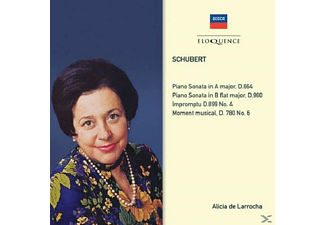 Alicia De Larrocha, VARIOUS - Piano Sonatas D 664 & 960 - (CD)