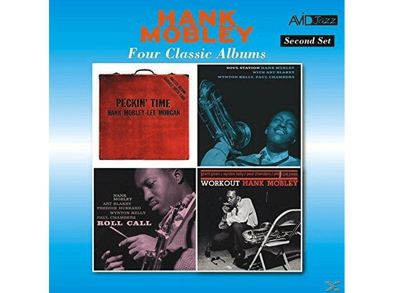 Hank Mobley - Four Classic Albums [Maxi Single CD]