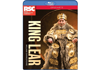 VARIOUS - King Lear - (Blu-ray)