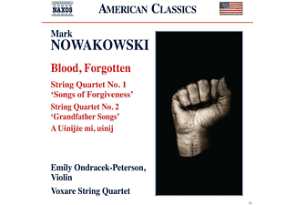 Emily Ondracek-peterson, Voxare String Quartet - Blood, Forgotten - (CD)