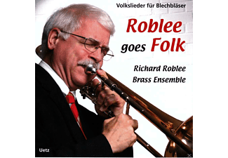 Richard Roblee Brass Ensemble - Roblee Goes Folk - (CD)