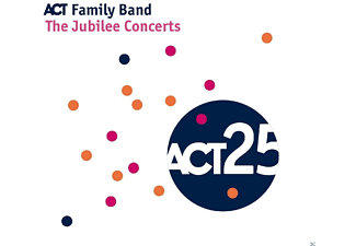 Act Family Band - THE JUBILEE CONCERTS - (CD)