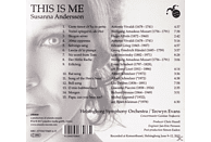 Susanna Andersson/Helsingborg Symphony Orchestra - THIS IS ME [CD]