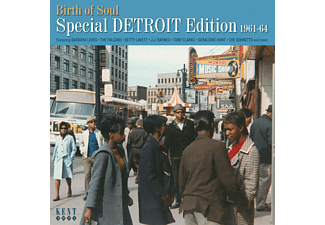 VARIOUS - Birth Of Soul-Special Detroit Edition 1960-64 - (CD)