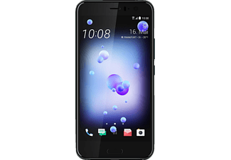HTC U11, Smartphone, 64 GB, 5.5 Zoll, Brilliant Black, Dual SIM