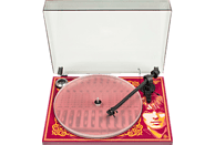 PRO-JECT Essential III George Harrison Plattenspieler (Rot/Orange)