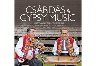 Hungarian National Folk Ensemble, Orchestra And Chorus Of Budapest - Csardas & Gypsy Music - (CD)
