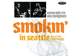 Wynton Trio Kelly, Wes Montgomery, VARIOUS - Smokin' In Seattle-Live At The Penthouse (1966) - (CD)