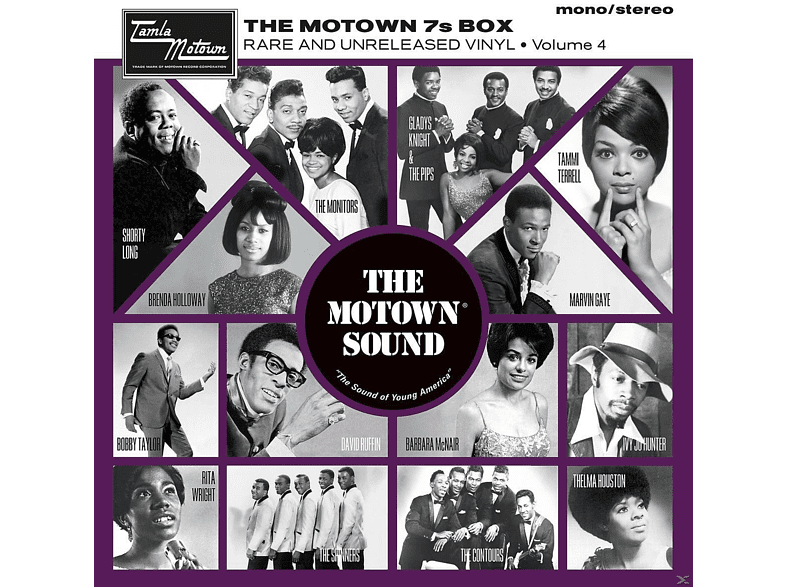 VARIOUS - THE MOTOWN 7S BOX VOL.4 (LTD.EDT.) [Vinyl]