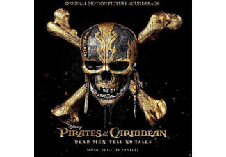 Pirates Of The Caribbean: Dead Man Tell No Tales OST CD