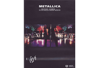 Metallica, San Francisco Symphony Orchestra - Metallica - S + M With The San Francisco Symphony Orchestra - (DVD)