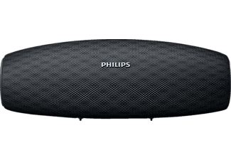 PHILIPS BT7900B Everplay Bluetooth Lautsprecher, Schwarz, Wasserfest